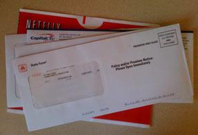 Netflix Envelopes