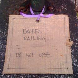 brokenrailing