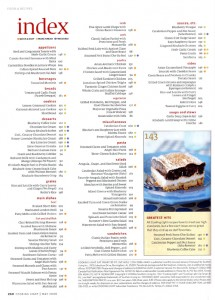 Old recipe index (click to enlarge).