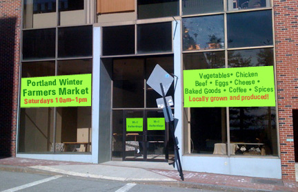 Sample signs for farmers market window