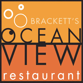 Brackett's Ocean View Restaurant, new logo