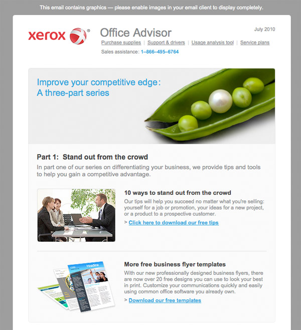 E-Newsletter from Xerox