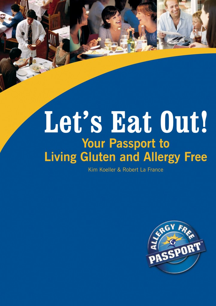 Let's Eat Out! Book cover design by Visible Logic