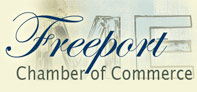 Freeport Chamber of Commerce temporary logo