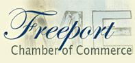 Freeport Chamber of Commerce temporary logo