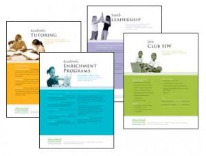 Educational Endeavor's print marketing