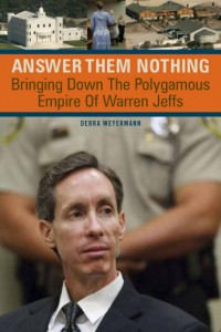 Answer Them Nothing book cover design
