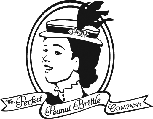 Final logo design for The Perfect Peanut Brittle Company