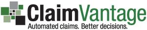 Final ClaimVantage logo design.