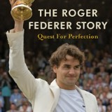 Book Cover Desgin for The Roger Federer Story
