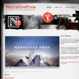 Narrative Pros web site