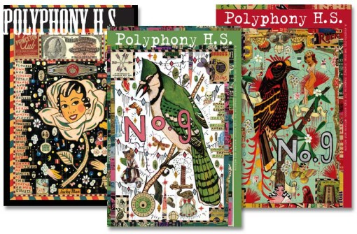 Polyphony HS covers