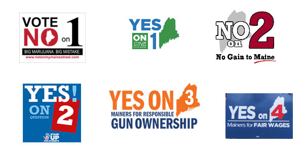 Maie 2016 Referendum question logos