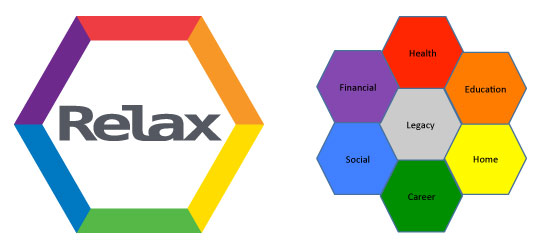 Original, internal branding elements