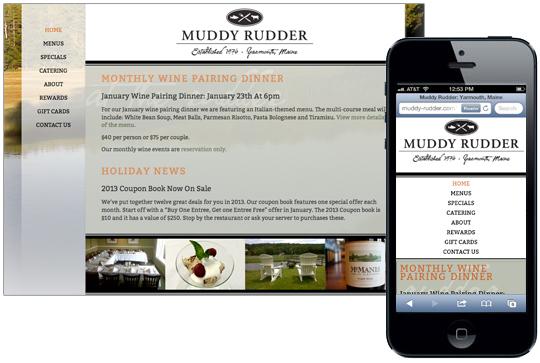 Muddy Rudder restaurant rebranding
