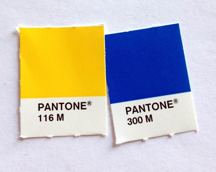 Pantone (PMS) swatches