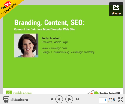 Webinar: Branding, Content, SEO