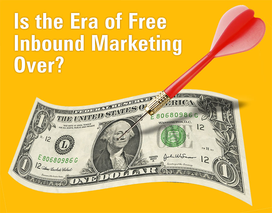 Is the era of free inbound marketing over?