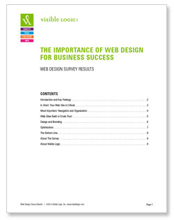 Whitepaper: Web Design And Business Succes Survey