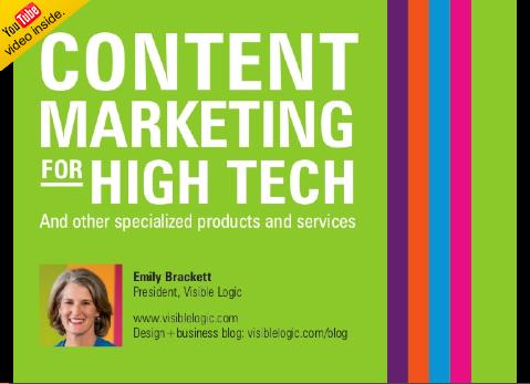 Webinar recording: content marketing for tech