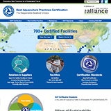 Best Aquaculture Practices (BAP) website design thumbnail