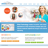 Climb Technology website design thumbnail