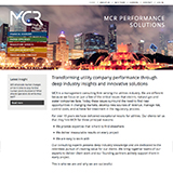 MCR Group website design thumbnail