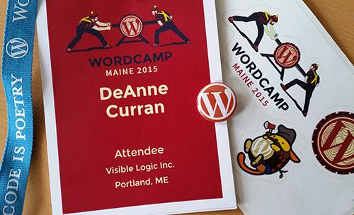 wordcamp maine 2015