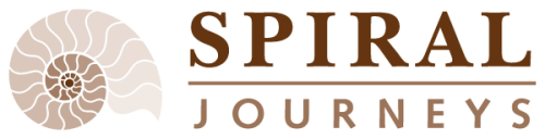 Spiral Journeys logo design