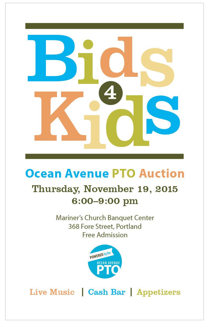 Bids 4 Kids Logo and Invitation