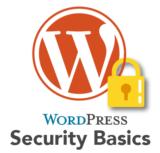 WordPress Security Basics