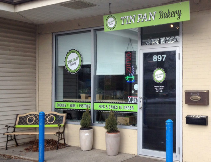 Tin Pan Bakery Branding