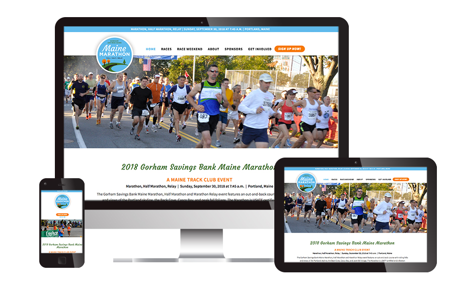Maine Marathon Website