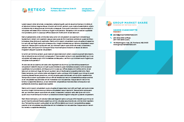 retego-letterhead-businesscard