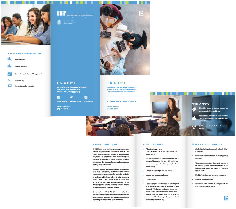 6 Tips for Tri Fold Brochure Design | Visible Logic