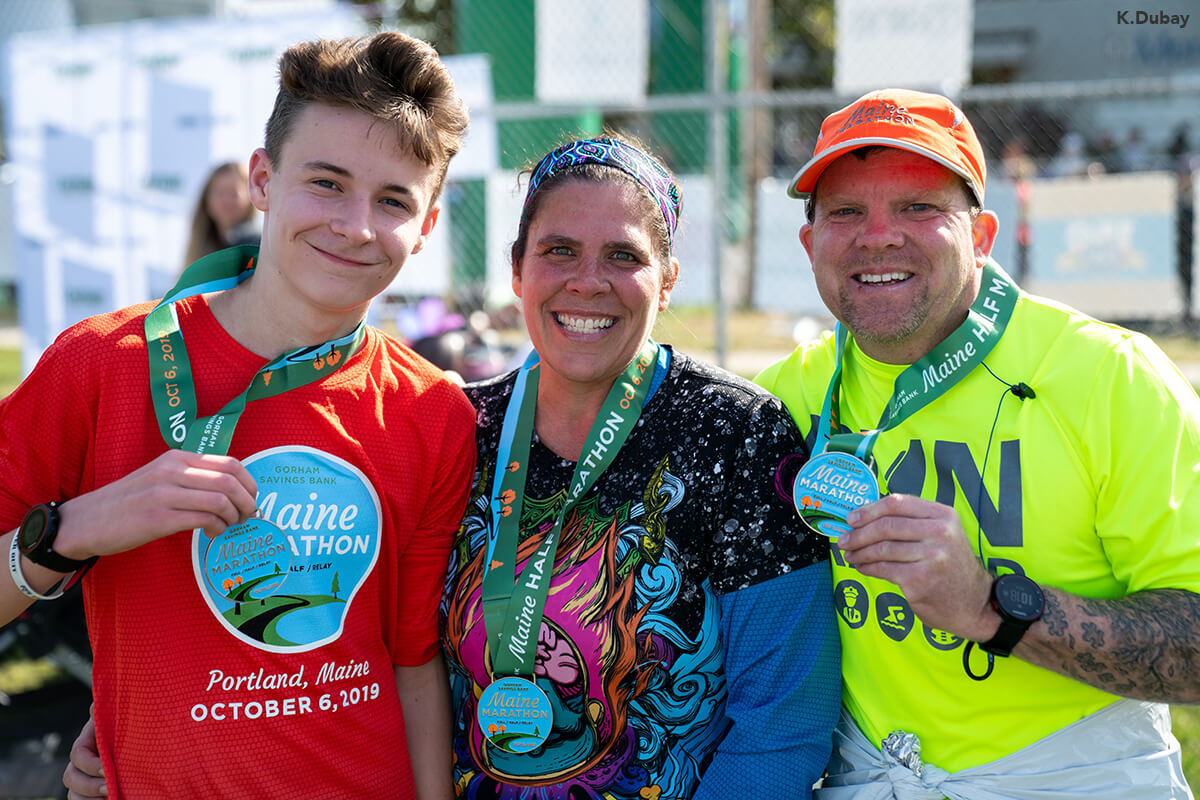 Maine Marathon swag