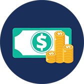 DAVO money icon
