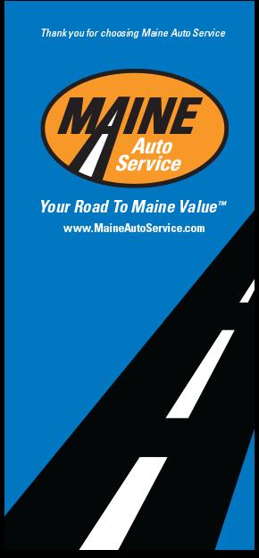 Maine Auto Service Brochure