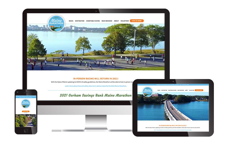 Maine Marathon Website